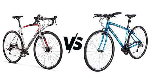 Road Bike VS Hybrid Bike
