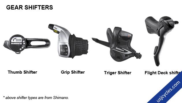 Type of Gear Shifters